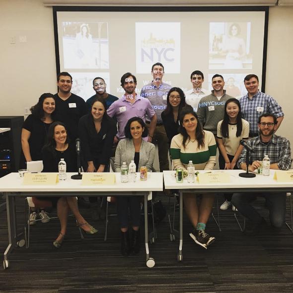 NYC Social Branding Panel